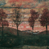 Egon Schiele: Vier Bäume (2017)