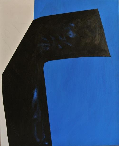 Titanilla Eisenhart, LEBEN 60 × 50 cm Acryl auf Leinwand 2017